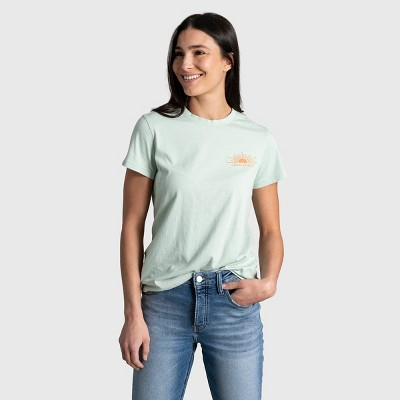 Women's United By Blue Preserve and Protect Short Sleeve Graphic T-Shirt - Aqua Foam