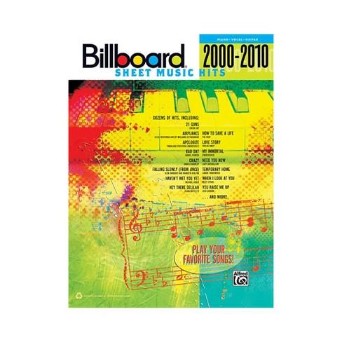 Alfred Billboard Sheet Music Hits 20002010 PVC - image 1 of 1