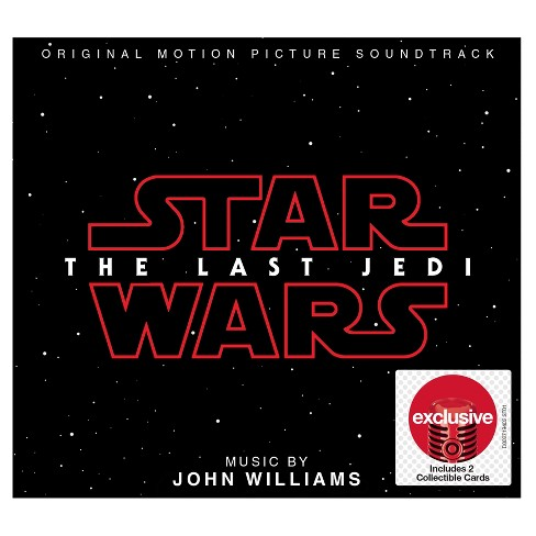 Star Wars - The Last Jedi Soundtrack (Target Exclusive) - image 1 of 1
