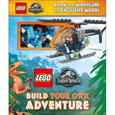Lego Jurassic World Build Your Own Adventure - (Lego Build Your Own Adventure) by  Julia March & Selina Wood (Mixed Media Product)