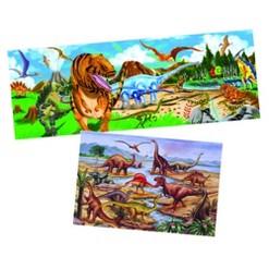 Melissa & Doug Dinosaur Floor Puzzle Set - Set Of 2