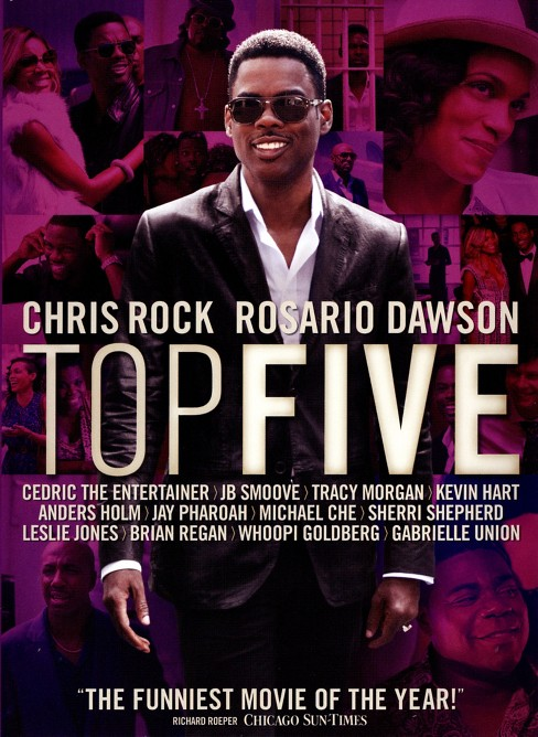 Top Five (dvd_video) - image 1 of 1