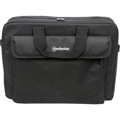 "Manhattan London 15.6"" Laptop Briefcase - Top-load, Fits most widescreens up to 15.6"""