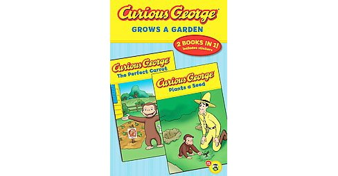 Curious George Grows a Garden (Original) (Paperback) - image 1 of 1