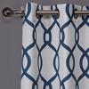 Kochi Linen Blend Grommet Top Window Curtain Panel - Exclusive Home® - image 3 of 4