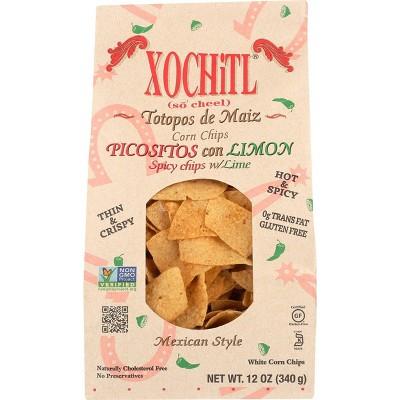 Xochitl Spicy Corn Chips 12oz 10 pk