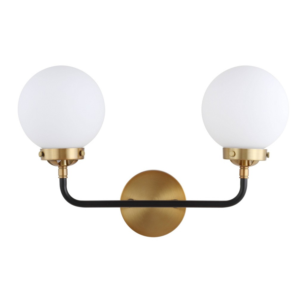 "Image of ""18"""" Caleb Wall Sconce Brass (Includes Energy Efficient Light Bulb) - JONATHAN Y"""