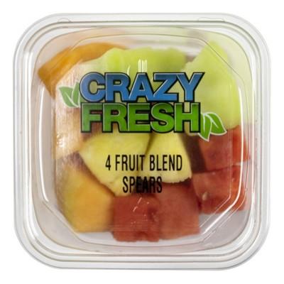 Crazy Fresh 4 Fruit Blend Spears - 15oz