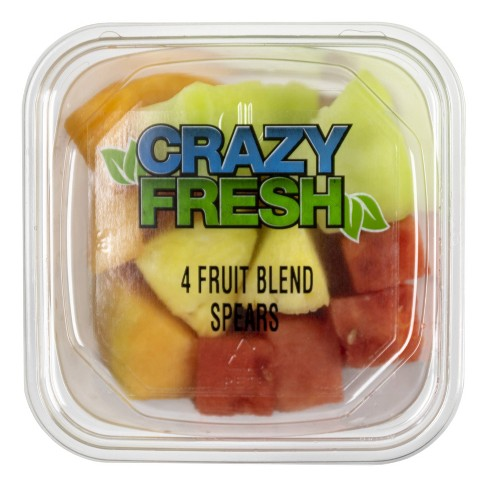 Crazy Fresh 4 Fruit Blend Spears - 15oz - image 1 of 3