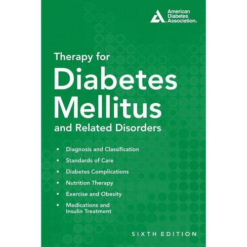 Therapy for Diabetes Mellitus and Related Disorders - 6 Edition (Paperback) - image 1 of 1