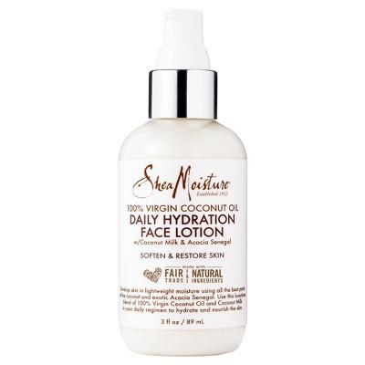 Hydrating facial lotion