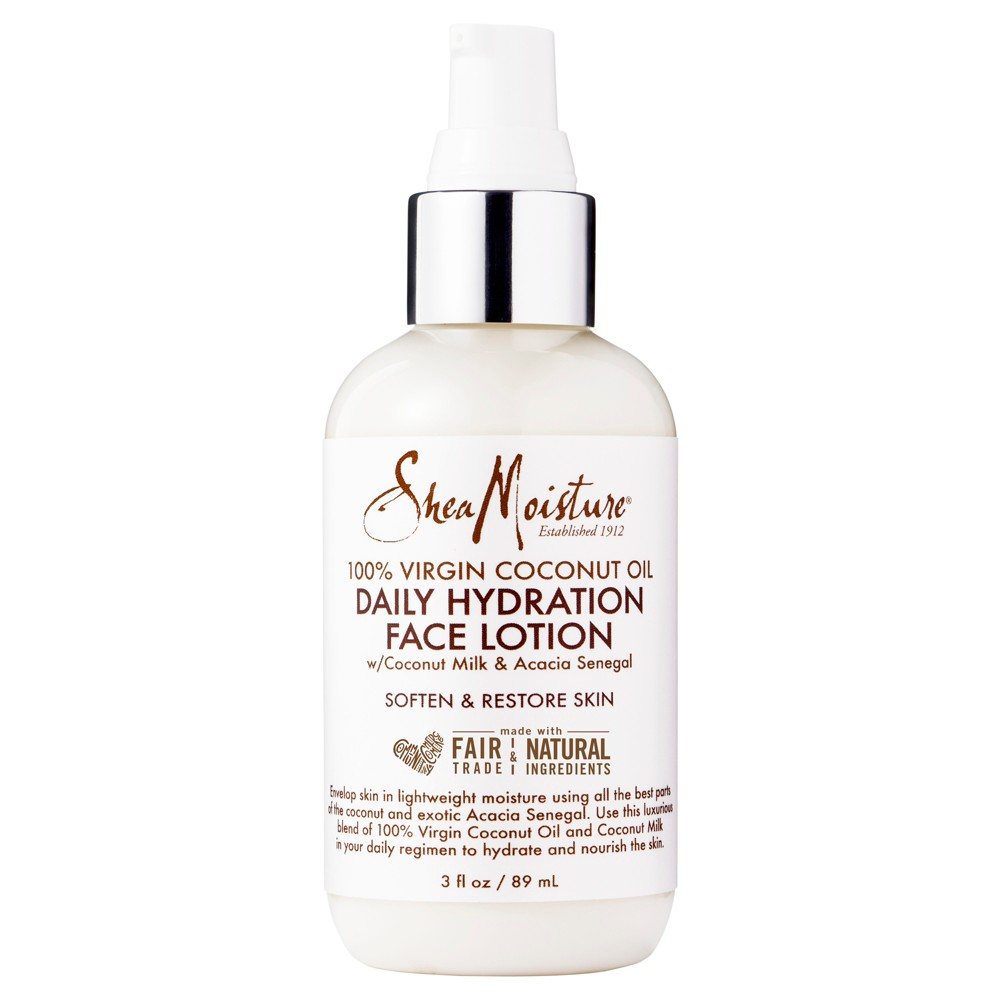 SheaMoisture Virgin Coconut Oil Daily Hydration Face Lotion - 3oz