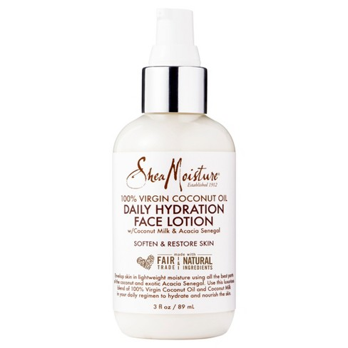 SheaMoisture Virgin Coconut Oil Daily Hydration Face Lotion - 3oz - image 1 of 1