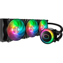 Cooler Master MasterLiquid ML360R RGB - 3 x 120 mm - 30 dB(A) Noise - Liquid Cooler - 4-pin PWM, 3-pin
