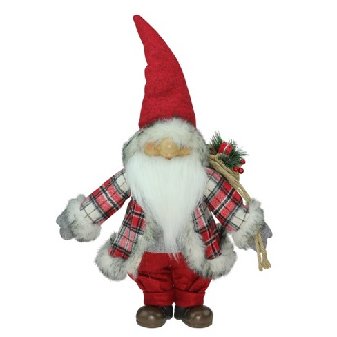 """Northlight 21"""" Red and Gray """"Merry Matthew"""" Gnome Christmas Tabletop Decoration - image 1 of 3"""
