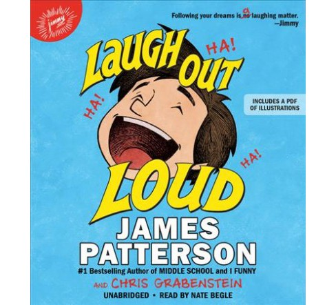 Laugh Out Loud : Library Edition (Unabridged) (Pre-Loaded Audio Player) (James Patterson & Chris - image 1 of 1