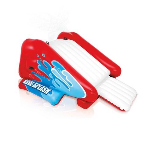 Intex Kool Splash Inflatable Pool Water Slide Play Center with Sprayer, Red - image 1 of 4