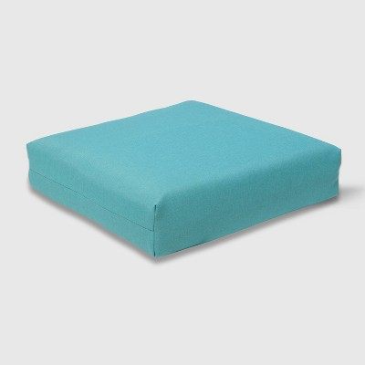 Outdoor Deep Seat Cushion Turquoise - Threshold™