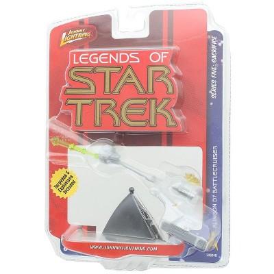 Ertl Star Trek Johnny Lightning S5 Mini Die Cast Ship - Klingon D7 Battlecruiser