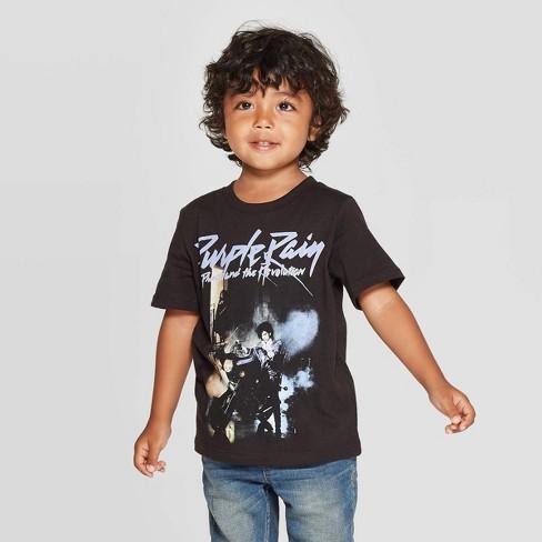 Bravado Toddler Boys' Prince Short Sleeve T-Shirt - Black - image 1 of 3