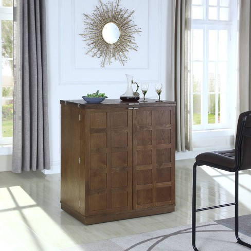 California Fold A Way Bar Cabinet - Proman Products - image 1 of 4
