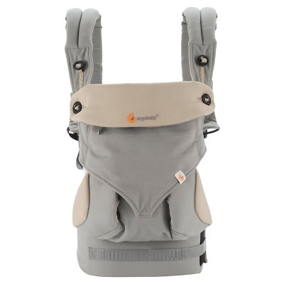 Ergobaby 360 All Carry Positions Ergonomic Baby Carrier - Gray