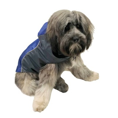 Royal Animals Dog Raincoat - Blue - XS
