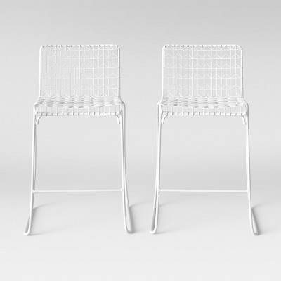 Set of 2 Oster Wire Counter Stool White - Project 62™