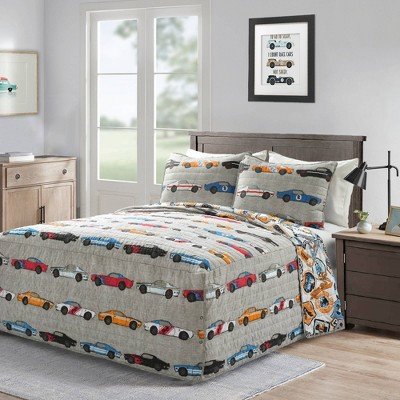 Race Car Bedspread Bedding Set - Lush Décor