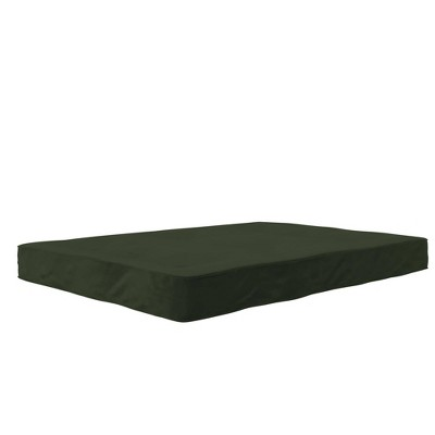 "Full 6"" Polyester Futon Mattress Army Green - Room & Joy"
