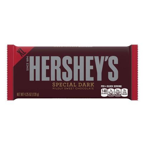 Hershey's Special Dark Mildly Sweet Chocolate - 4.25oz - image 1 of 4