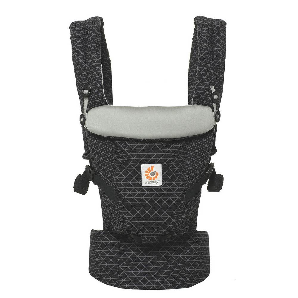 Ergobaby Adapt Ergonomic Multi-Position Baby Carrier - Geometric Black