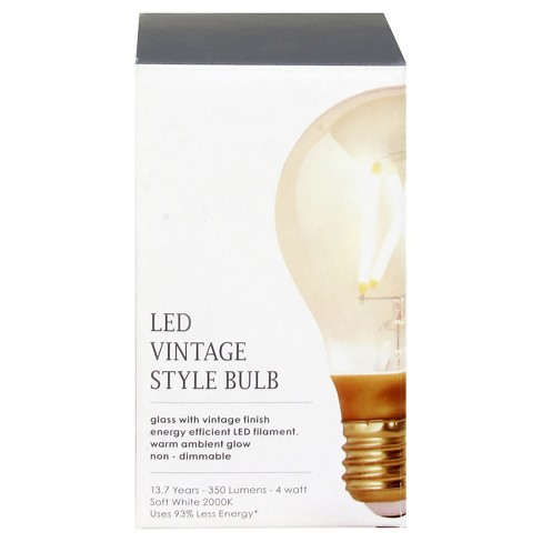4 Watt LED Vintage A19 Dimmable - Threshold™ - image 1 of 1