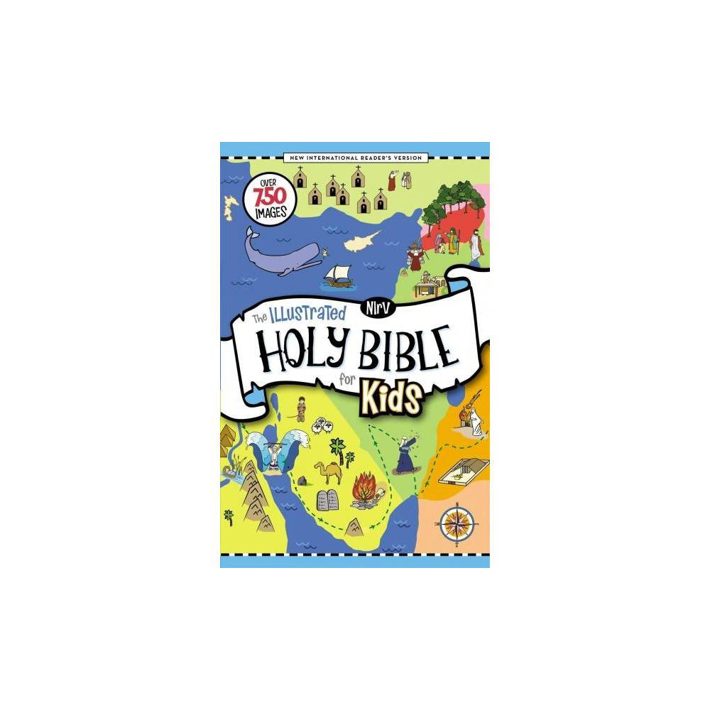Holy Bible : New International Readers Version; The Illustrated Holy Bible for Kids, Full Color, Comfort