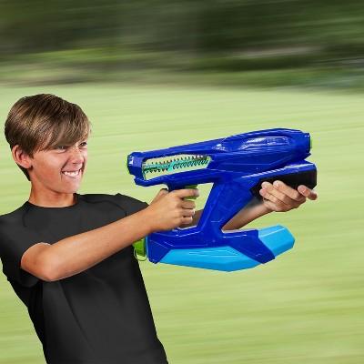 "Swim Way 14.5"" Flood Force Power Core Power Water Blaster Swimming Pool Toy - Blue"