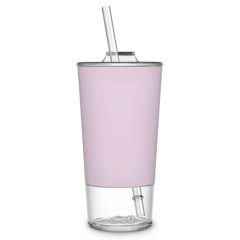 Ello Tidal 20oz Glass Tumbler with Lid - image 1 of 4