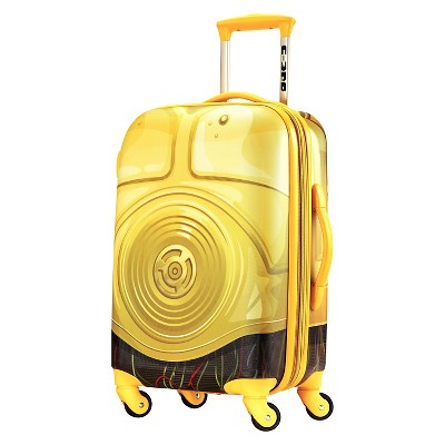 American Tourister Star Wars C3PO Hardside Spinner Suitcase - Yellow (21 )