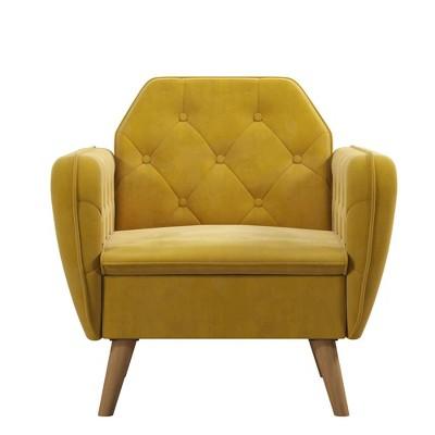 Teresa Tufted Accent Chair - Novogratz