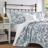 Laura Ashley Aimee Quilt Set Blue - image 2 of 4