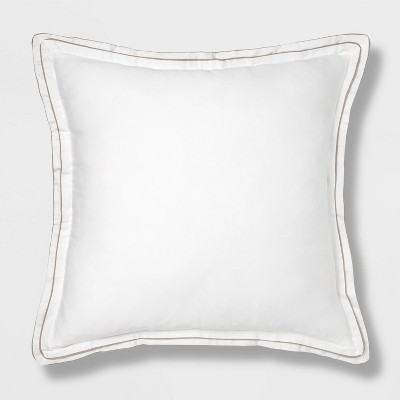 Sig Hotel Border Frame Euro Dec Pillow - Threshold Signature™