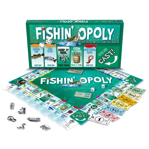 Late For The Sky Fishin'-Opoly Board Game - image 1 of 1