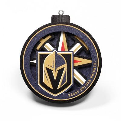 NHL Vegas Golden Knights 3D Logo Series Ornament