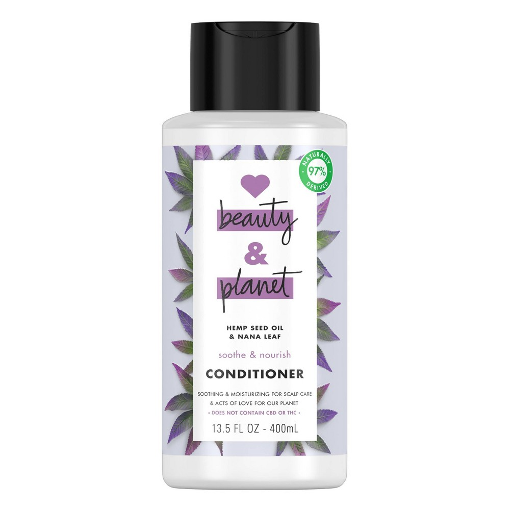 Image of Love Beauty and Planet Hemp Seed Conditioner - 13.5 fl oz