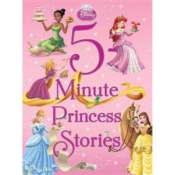 5-Minute Princess Stories ( 5-minute Stories) (Hardcover) by Press Disney