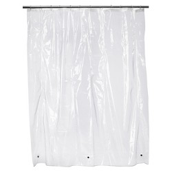 Solid Super Soft PEVA Shower Liner Clear - Room Essentials™