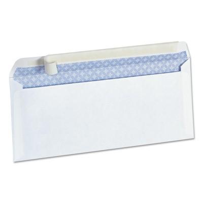 envelope Metal strip closure
