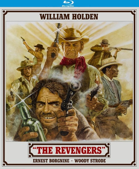 Revengers (Blu-ray) - image 1 of 1