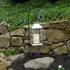 Solar Powered Lantern with LED Candle Silver - LumaBase - image 2 of 4