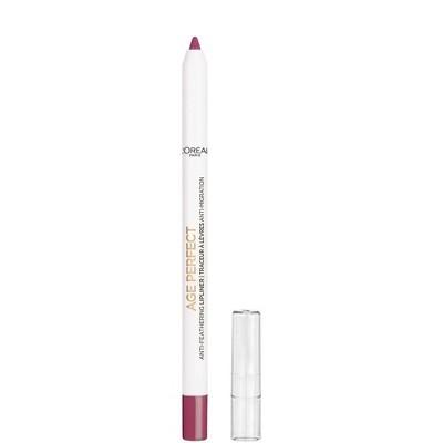 L'Oreal Paris Age Perfect Makeup Anti-Feathering Lip Liner - 0.04oz