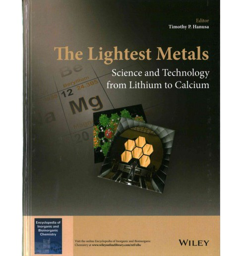 Lightest Metals : Science and Technology from Lithium to Calcium (Hardcover) - image 1 of 1